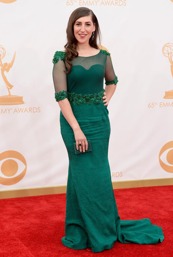 mayim-bialik-emmy-awards-2013